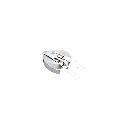 Zebra Wristband Polypropylene 0.75 x 11in Direct Thermal Zebra Z-Band Direct HC100