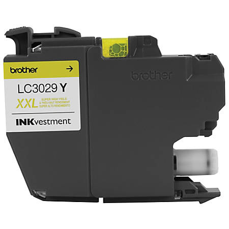Brother® INKvestment High-Yield Ink Cartridge, Yellow, LC3029Y