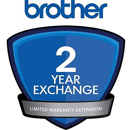 Brother Express Exchange - 2 Year Extended Warranty - Warranty - Service Depot - Exchange - Electronic and Physical Service