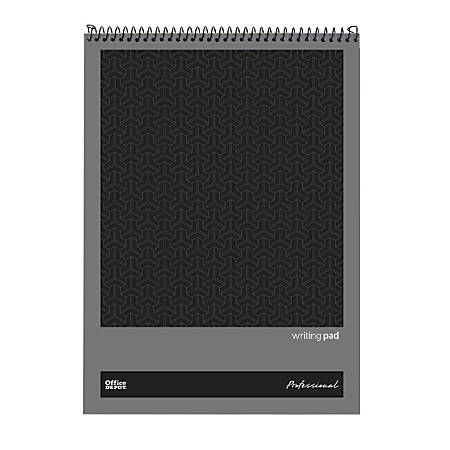 """Office Depot® Brand Professional Top Wirebound Wide-Ruled Legal Pad, 8 1/2"""" x 11 3/4"""", White, 70 Sheets"""