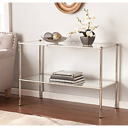 Southern Enterprises Paschall Console Table Rectangular