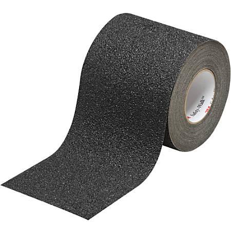 "3M™ 710 Safety-Walk Tape, 3"" Core, 6"" x 30', Black"