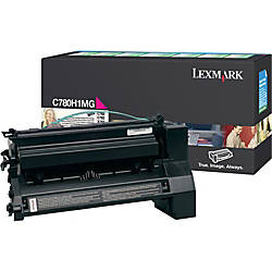 Lexmark C780H1MG Return Program Magenta Toner