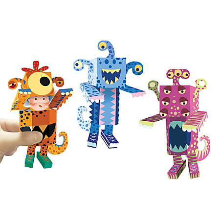 Office Depot® Pop-Up Origami Monsters Kit