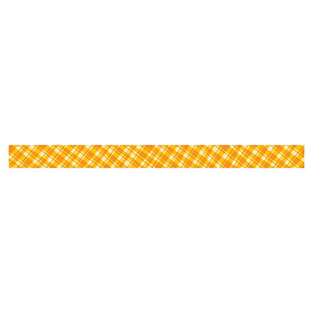 "Creative Teaching Press Golden Plaid Border - Science, Nature, Sun Theme/Subject (Border) Shape - Golden Plaid - 3"" Width x 420"" Length - Yellow - 1 Each"
