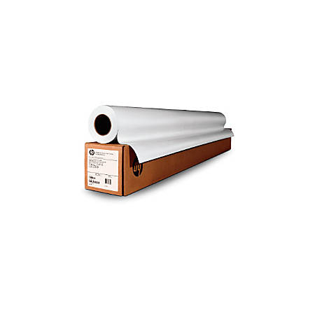 """HP Poster Paper Roll, Production, Satin, 40"""" x 300', White"""