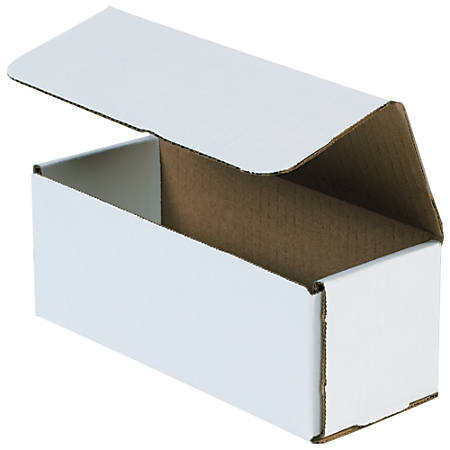 """Office Depot® Brand 16"""" Corrugated Mailers, 6""""H x 6""""W x 16""""D, White, Pack Of 50"""