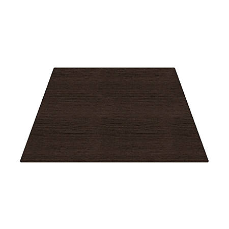 WorkPro® Flex Collection Trapezoid Table Top, Espresso