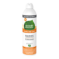 Seventh Generation Disinfectant Spray 1390 Oz