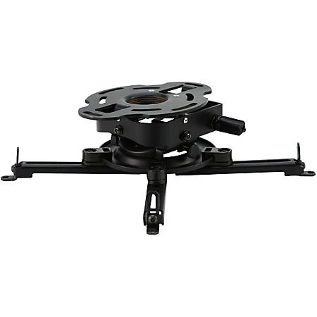 Peerless-AV PRGS-UNV Ceiling Mount for Projector - Black - 50 lb Load Capacity
