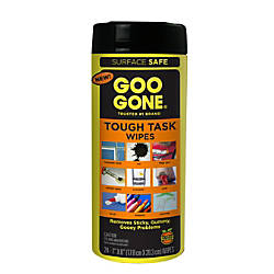 Goo Gone Tough Task Cleaner Wipes