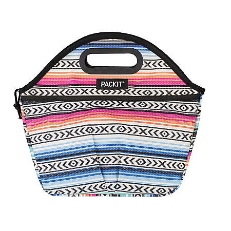 PackIt® Freezable Traveler Lunch Bag, Multicolor