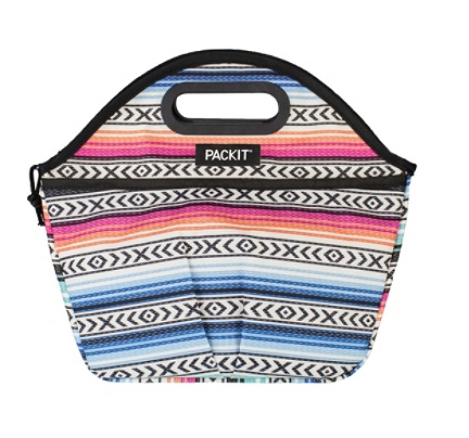 T Freezable Traveler Lunch Bag 11 12 H X 14 W 6 D Multicolor By Office Depot Officemax