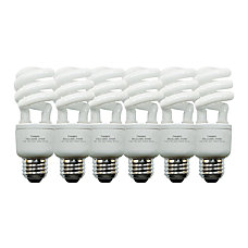 GE Spiral Compact Fluorescent Bulb 13