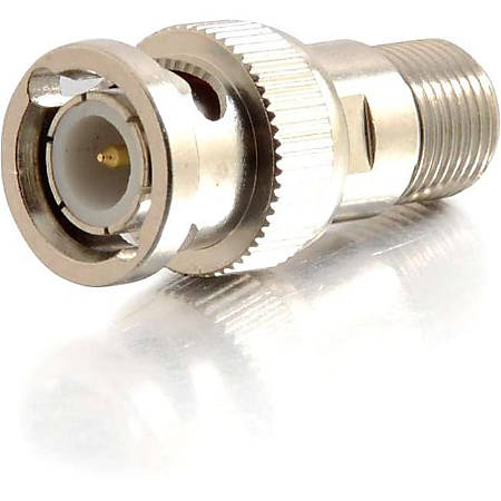 C2G BNC Male to F-Type Female Adapter