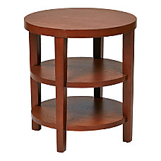 Ave Six Merge End Table Round