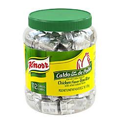 Knorr Chicken Flavor Bouillon Cubes Jar