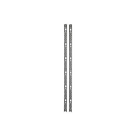 APC Narrow Vertical Cable Organizer - Black - 42U Rack Height