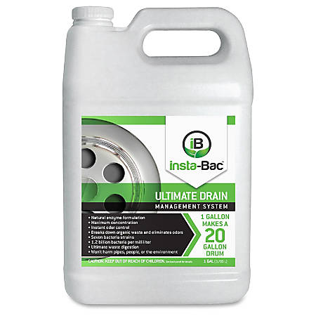 Unimed-Midwest Unimed Ultimate Drain Waste Digest Concentrate - Concentrate - 1 gal (128 fl oz) - 1 Bottle - Clear