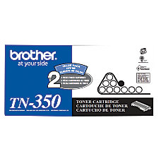 Brother TN 350 Black Toner Cartridges