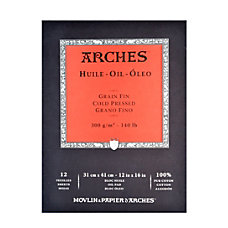 Arches Oil Pad 12 x 16