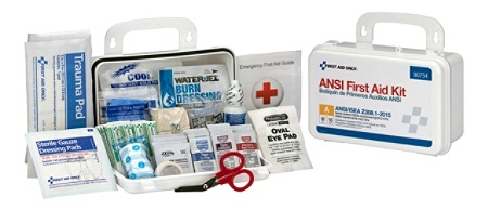 First Aid Only 10-Person Bulk First Aid Kit, White, 71 Pieces Item # 628284