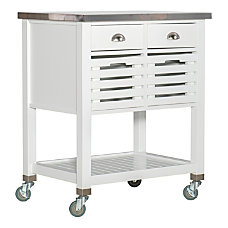 Linon Sherwood Kitchen Cart 36 14