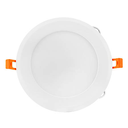 "Luminoso LED 6"" Round Panel Fixture, 6"" Diam, Dimmable, 5,000 Kelvin, 15 Watt, 1,024 Lumens"