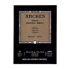 Arches Drawing Pad 9 x 12