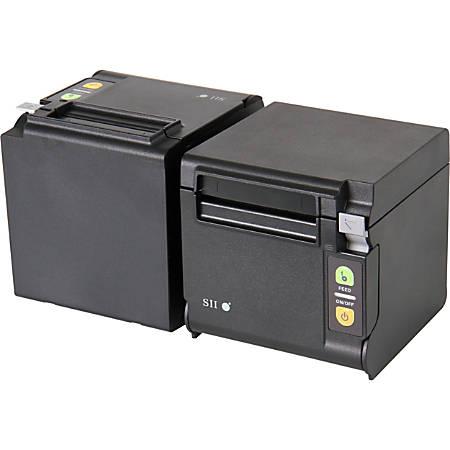 "SII Qaliber RP-D10-K27J1-1 Direct Thermal Printer - Monochrome - Desktop - Receipt Print - 2.83"" Print Width - 7.87 in/s Mono - 203 dpi - 3.15"" Label Width"