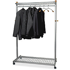 Alba Mobile 2 Sided Garment Rack