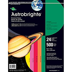 Bright Color Paper Wausau Astrobrights Letter