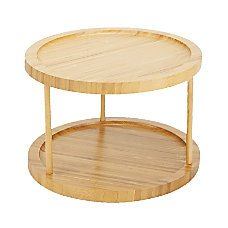 Mind Reader 2 Tier Bamboo Countertop