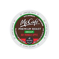 McCafe Premium Roast Decaf K Cup
