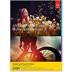 Adobe Photoshop Elements 15 Premiere Elements 15 Student And Teacher