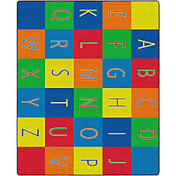 Flagship Carpets Alphabet Seating Rug 10