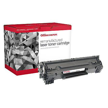 Office Depot® Brand OD83AJ (HP CF283A(J)) Extended High-Yield Remanufactured Black Toner Cartridge