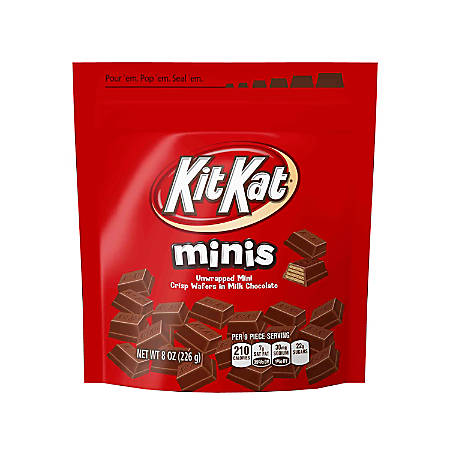 Kit Kat® Minis Pouches, 8 Oz, Pack Of 3 Pouches