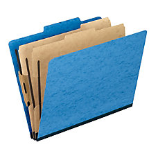Pendaflex PressGuard Color Classification File Folders