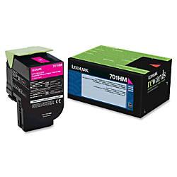 Lexmark 70C1HM0 High Yield Magenta Toner