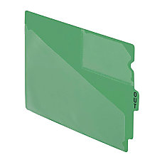 Esselte Recycled Colored Vinyl Out Guides