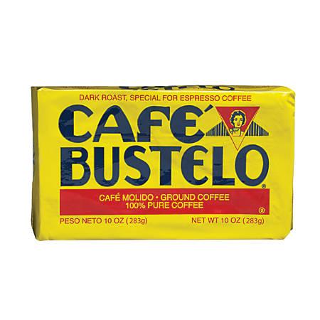 Café Bustelo® Dark Roast Espresso Coffee, 10 Oz Vacuum Pack