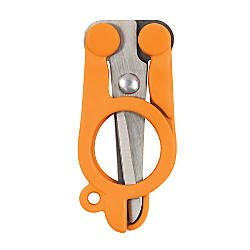 Fiskars Folding Scissors 4 Blunt Orange