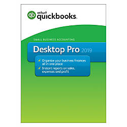 QuickBooks Desktop Pro 2019 Traditional Disc