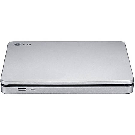 LG AP70NS50 DVD-Writer - Silver - DVD-RAM/±R/±RW Support - 24x CD Read/24x CD Write/24x CD Rewrite - 8x DVD Read/8x DVD Write/8x DVD Rewrite - Double-layer Media Supported - USB 2.0 - Slimline