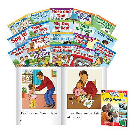 Shell Education Building Language Through Phonics, Level E: Long Vowels, Preschool To Grade 2