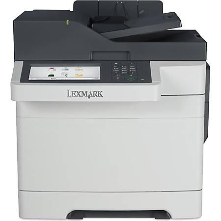 Lexmark CX517de Laser Multifunction Printer Color Plain Paper