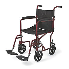 Medline Aluminum Transport Chair 8 Wheels