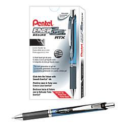 Pentel EnerGel Deluxe RTX Retractable Liquid
