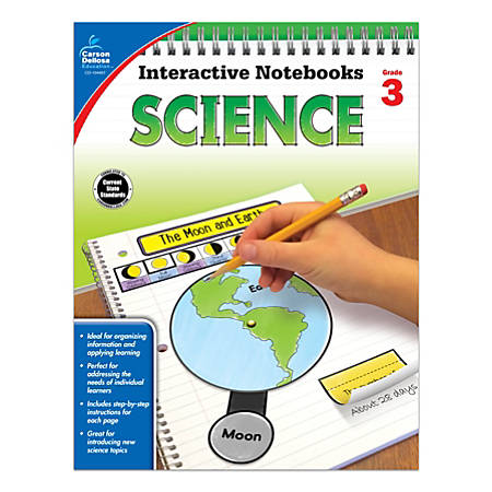Carson-Dellosa Interactive Notebooks: Science, Grade 3